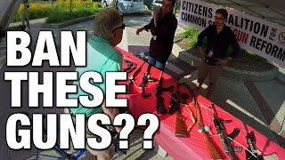 """Common Sense"" Gun Control Debunked! (Man-On-Street)"