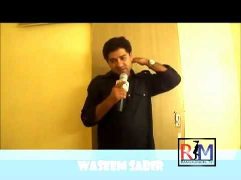 Waseem Sabir Talks about Actor Barun Sobti wmv