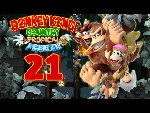 Let's Play Donkey Kong Country Tropical Freeze Part 21: Fataler Wackelpudding