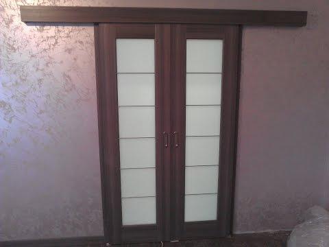 Как сделать сдвижную дверь