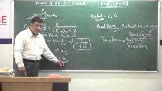 XII-5.14.Power of A.C.Circuit (2014)Pradeep Kshetrapal Physics