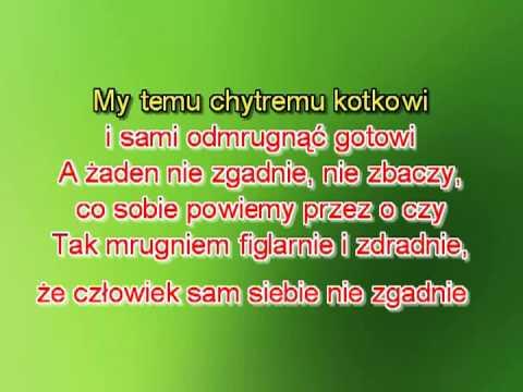 Karaoke Wlazł Kotek Na Płotek - Wersja 2 Wolniejsza T+5 ( Www.letsing.pl )