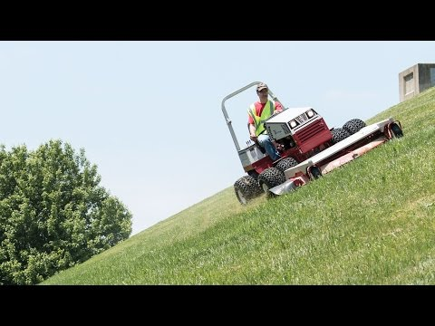 The Best Steep Slope Mower - Ventrac