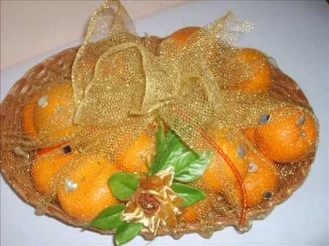 Fruits decoration for marriages youtube for Comdecoupe fruit decoration