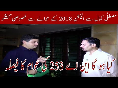 Mustafa kamal Exclusive Talk About national Elections | Neo News