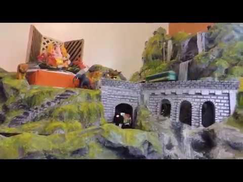 Eco Friendly Ganpati Home Decoration 2013 Youtube