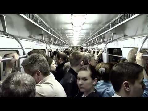 Rush hour (Moscow Metro) | Час пик (Московский метрополитен)