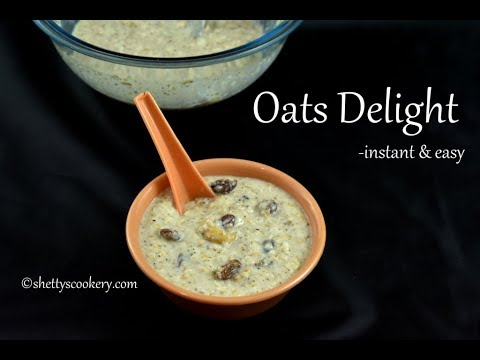 Instant Oats delight | Light dinner recipe | Instant breakfast recipe | Healthy breakfast recipes