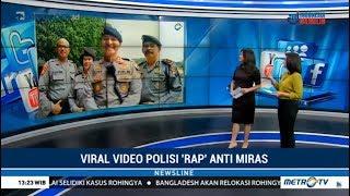 "Wawancara Dengan Polisi ""Rapper"" Semarang : Viral Aksi Anti Miras Oplosan Tanpa Ancaman"