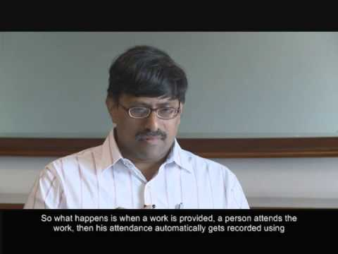 Advanced IT Makes India's NREG Effort Run Efficiently