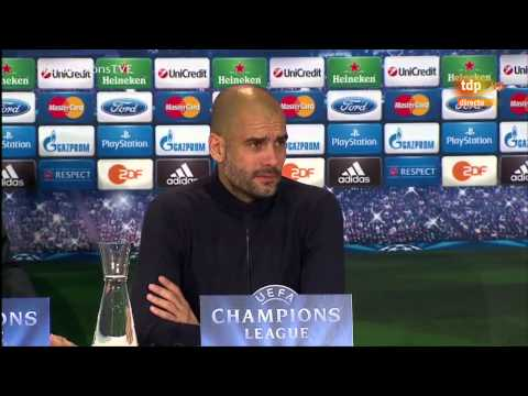 PEP GUARDIOLA - BAYERN 0-4 REAL MADRID