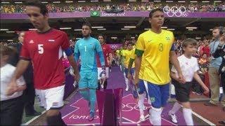 Brazil 3-2 Egypt - Men's Football Group C | London 2012 Olympics