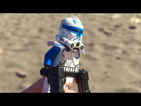 Lego Star Wars - Custom 501 Legion Review (обзор самодельных клонов)
