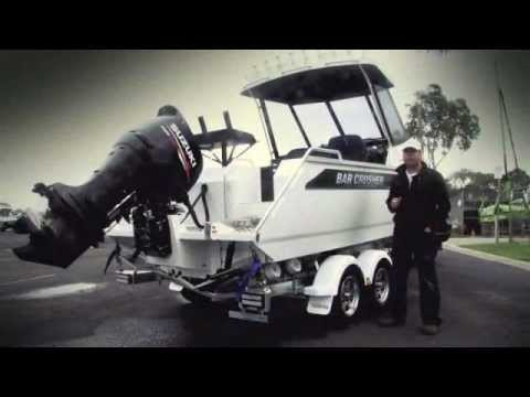 Bar Crusher 610HT - Trailer Boat Magazine test day