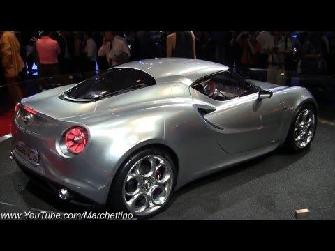 Alfa Romeo 4C GTA Concept – 2011 Frankfurt Motor Show