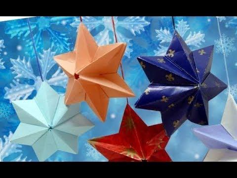 Как сделать 3д оригами из бумаги