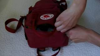 What's In My Kanken Mini / Road Trip Essentials