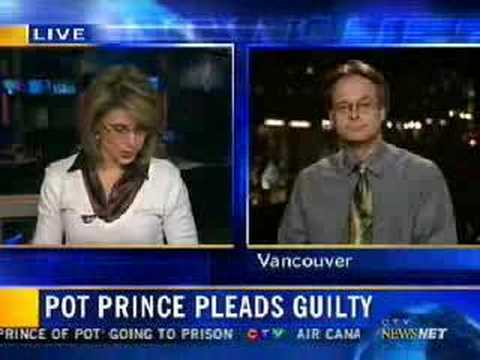 CTV Marc Emery Marcia MacMillan Interview