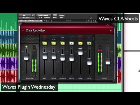 Waves CLA Vocals - Waves Plugin Wednesday!