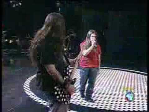 MEU URSINHO - Davi Metal com Andreas Kisser do Sepultura - Idolos 2009 - 16/12/09