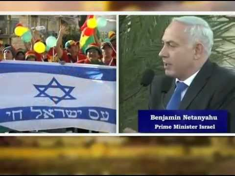 Benjamin Netanyahu thanking Zionists from all walks of life including Christian Zionists