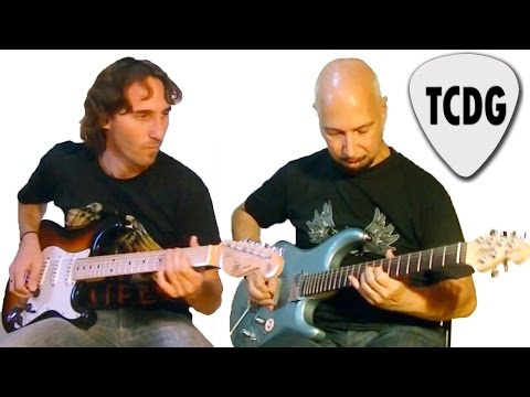Improvisación Metal Neoclásico en Modo Frigio por Marcelo Roascio y Mario Freiria TCDG