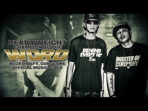 Heavyweight Champion of the Word - Negatibo Ft. Curse One ( Official Music Video )  [ VBD ]