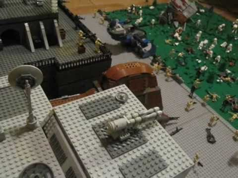 Lego Star Wars Alderaan Lego Star Wars Droid Base on