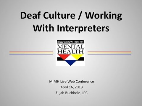 understanding deaf culture essay Seeing at the speed of sound lipreading, which makes one sense do the work of another, is a skill daunting to describe rachel kolb, '12, deaf since birth, shares its mysteries.