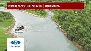 New Ford Endeavour I 800-mm Water Wading I Drive Through The Rivers