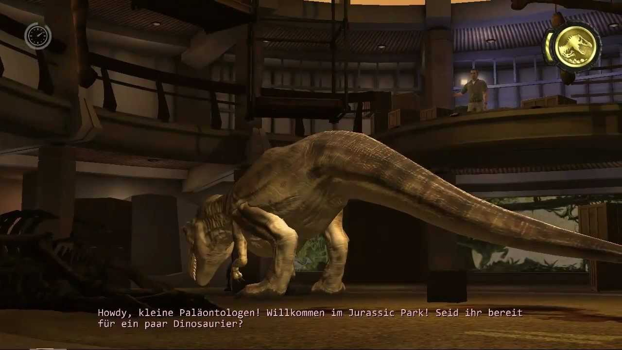 Jurassic Park The Game 006 T Rex Youtube