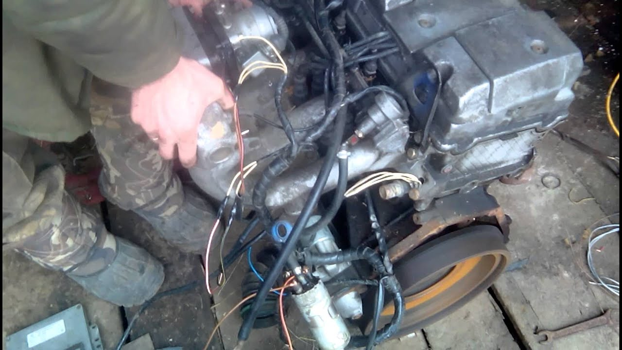 W124 ремонт своими руками