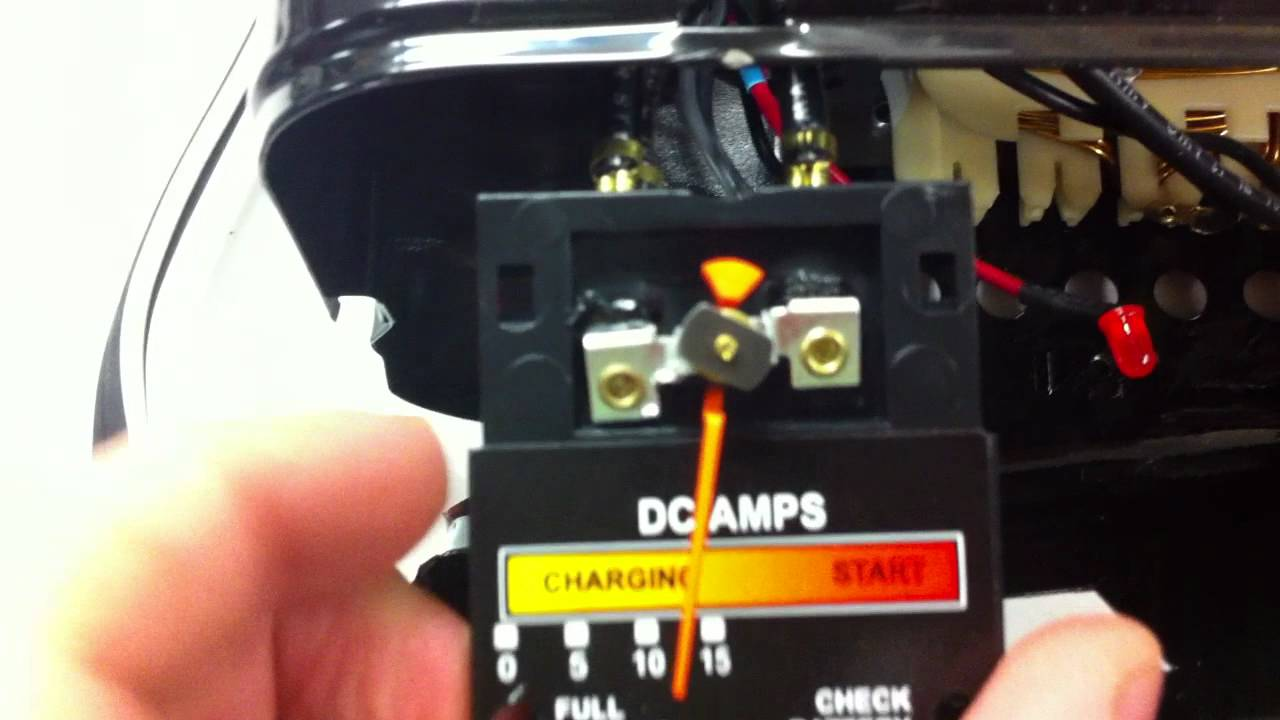 Dangerous Motomaster Car Battery Charger Amp Gage