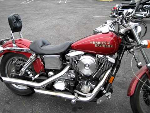 1998 Harley Davidson Dyna Low Rider Screaming Eagle Pipes