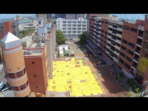 Time Lapse of the construction of the NJITLife Sciences & Engineering Center