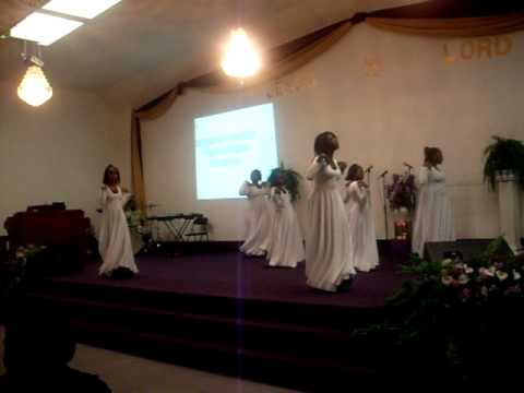 Press In Your Presence / House Of Prayer Youth Praise Dancers / McRae Ga