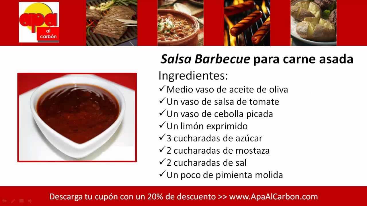 C mo preparar salsa bbq youtube - Como se hace pollo en salsa ...