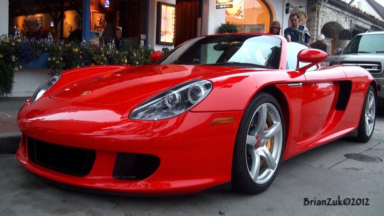 Red Porsche Carrera gt Wallpaper Porsche Carrera gt