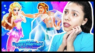 I FROZE MY CRUSH WITH MY POWERS! - The Little Princess Mermaid - Secret Mermaid (App Game)