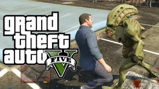 "GTA 5 ALIEN EASTER EGG! (GTA 5 Aliens) (Grand Theft Auto 5) ""How to Find Aliens in GTA 5"""