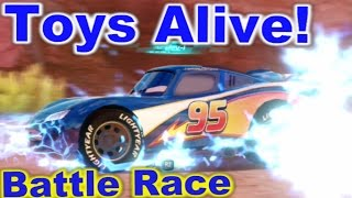 Cars 2: The video Game - Lightyear Lightning - Battle Race on Canyon Run.