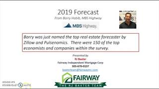 Market Update: 2019 Housing and Interest Rate Forecast