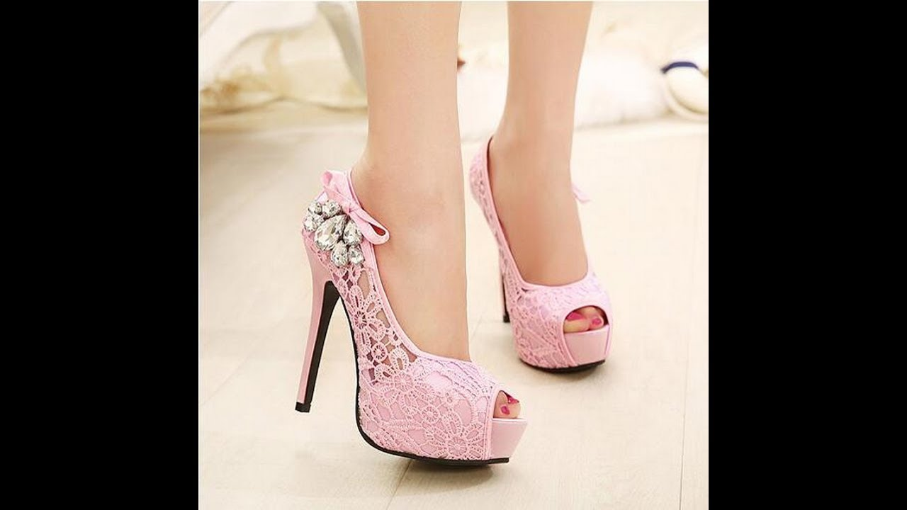 Beautiful high heels shoes for girls
