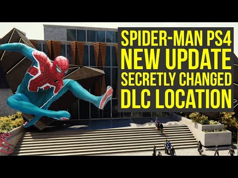 Spider Man PS4 DLC Location CHANGED AHEAD Of RELEASE & New Look At DLC Suits (Spiderman PS4 DLC)