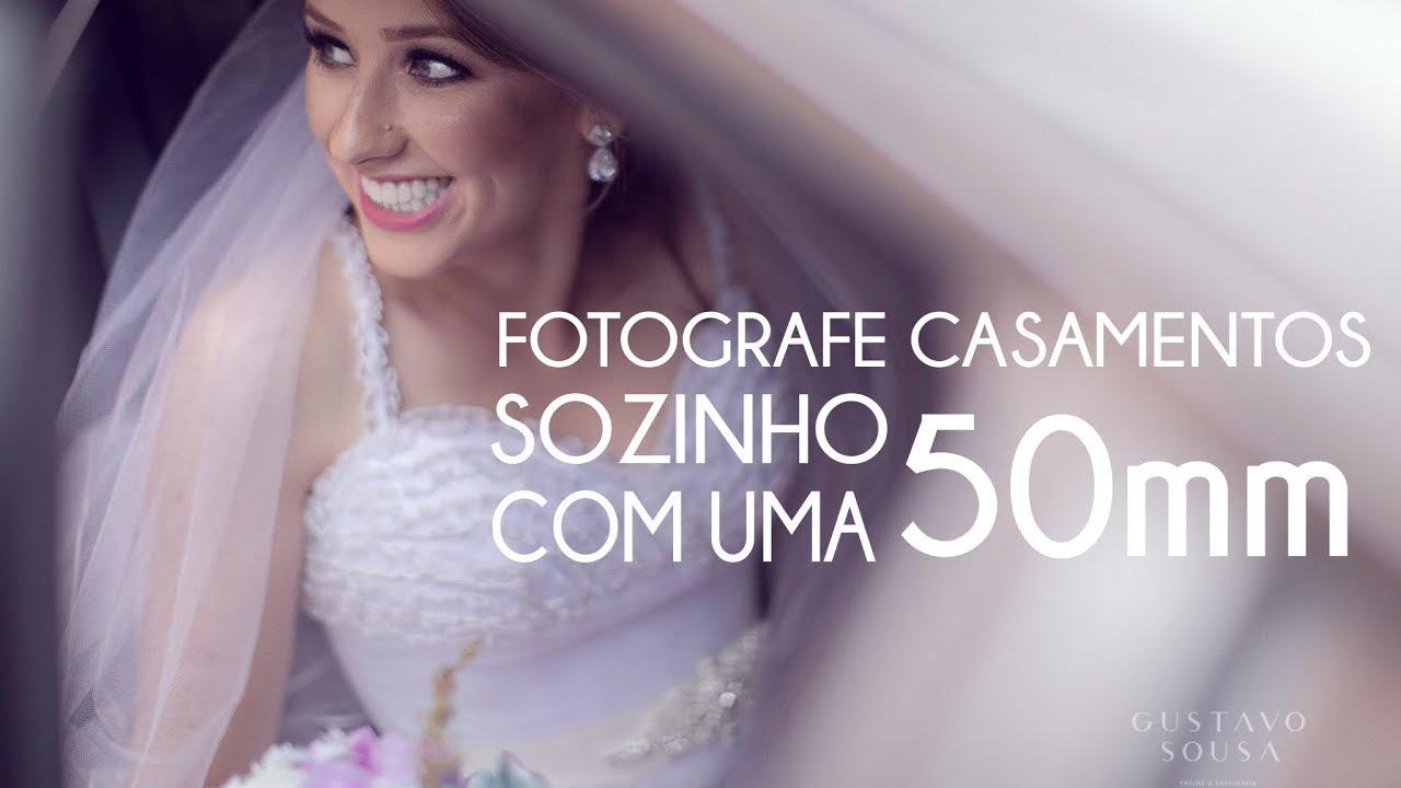 Fotografar casamento sozinho