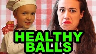 Healthy Balls w/ Miranda Sings & Chef Jacob
