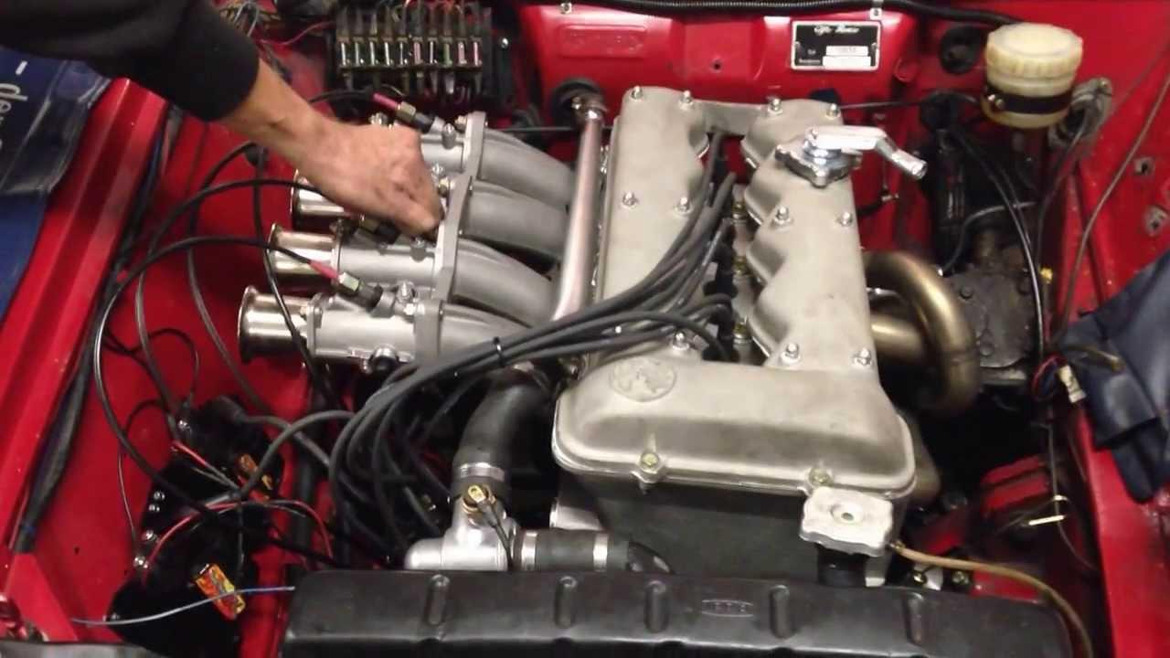 Alfa romeo gtv engine rebuild 12