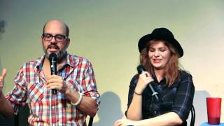 David Cross & Amber Tamblyn Interview Pt. 1 — Running Late with Scott Rogowsky
