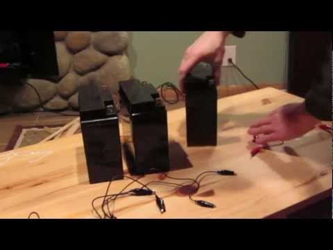 How To Wire 12 volt Batteries in Series and Parallel