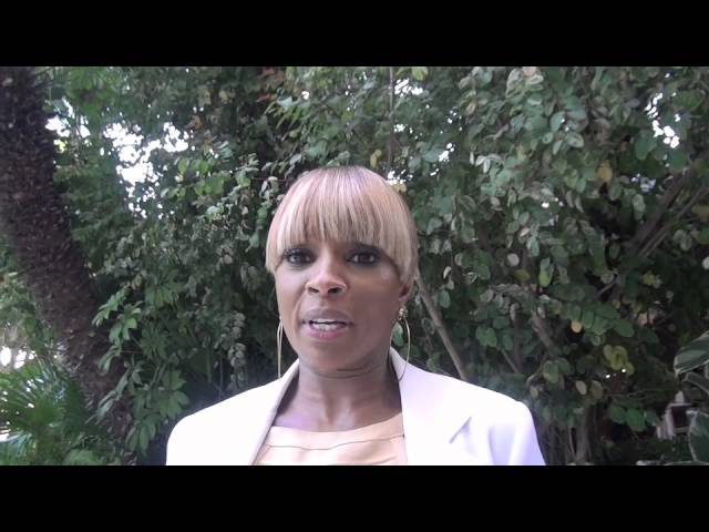 Mary J Blige speaks to the HFPA